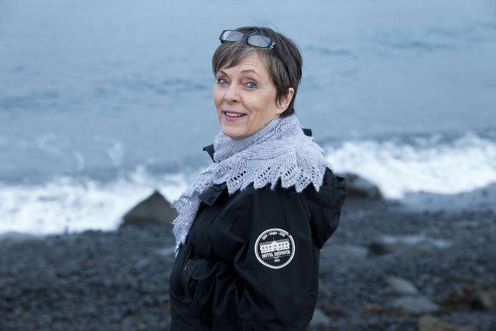 Eva Sigurbjörnsdóttir sveitastjóri í Árneshreppi.