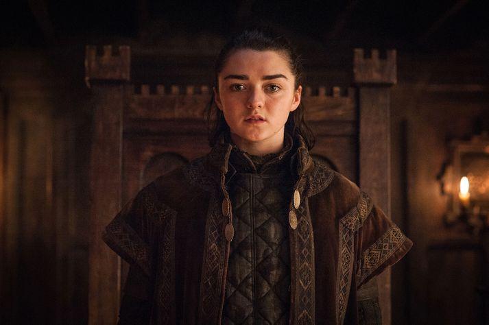 Arya Stark er mikið fyrir að drepa fólk og hún er orðin mjög góð í því.