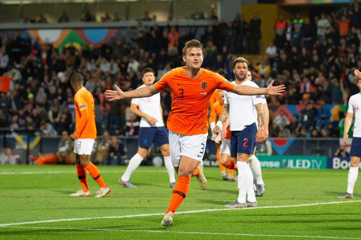 Þrátt fyrir ungan aldur hefur De Ligt leikið 17 A-landsleiki fyrir Holland.
