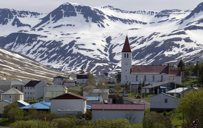 Fjallaskíðamenn vilja lenda við hóteldyrnar.