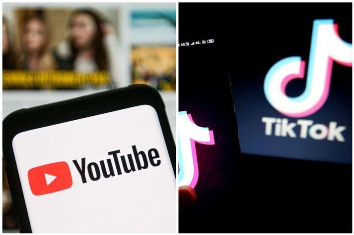 YouTube hefur kynnt til sögunnar Shorts, sem hefur í raun sömu virknu og TikTok.