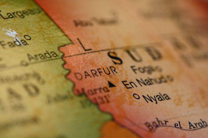 Darfur-hérað er í vesturhluta Súdan.