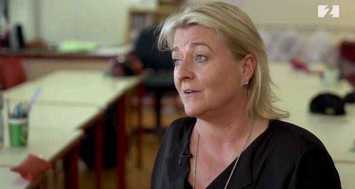 Edda Júlía Helgadóttir er kennari í Ártúnsskóla.