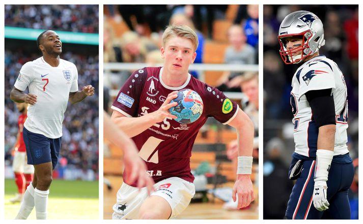 Sterling, Haukur og Brady verða í beinni í dag.
