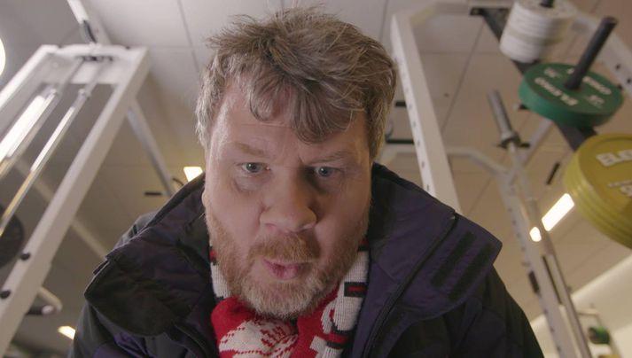 Hörður Magnússon fer á kostum í auglýsingunni