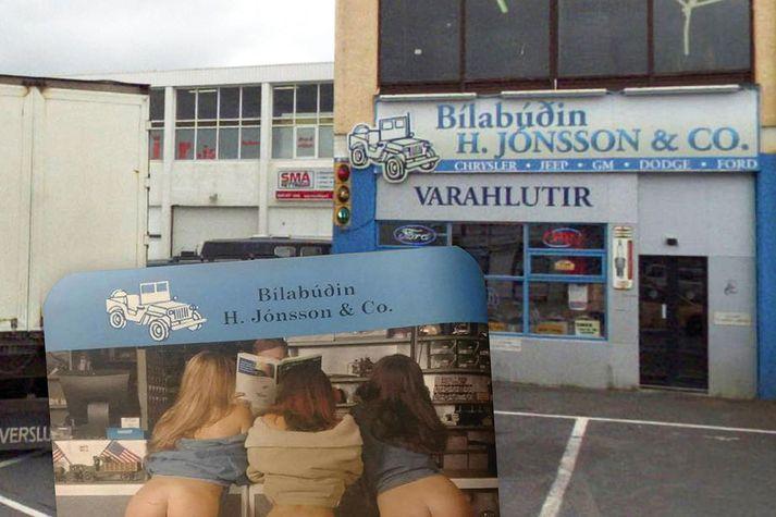 Músarmottur bílabúðarinnar H. Jónsson & Co. hafa verið harðlega gagnrýndar en forsvarsmaður búðarinnar segir ekkert athugavert við þær.