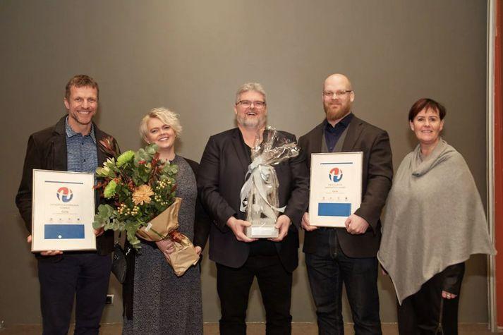 Curio hlaut Nýsköpunarverðlaun Íslands 2019.