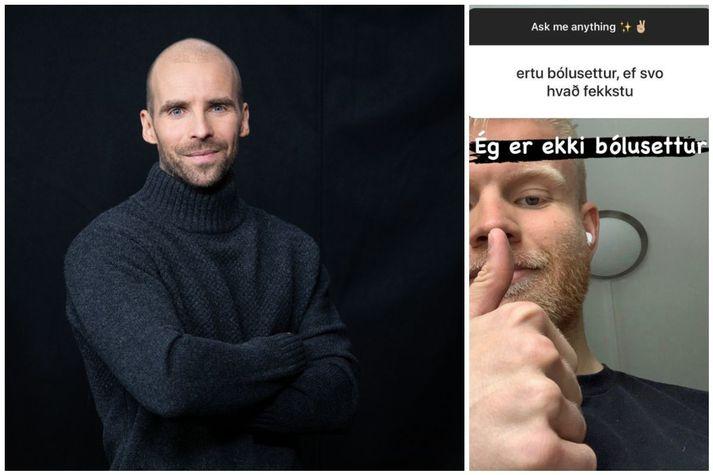 Auddi nýtti tækifærið til að skjóta létt á Nökkva.