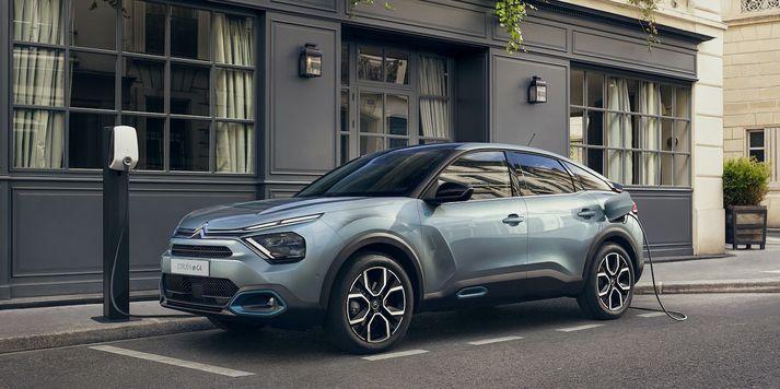 Citroën ë-C4 100% rafbíll
