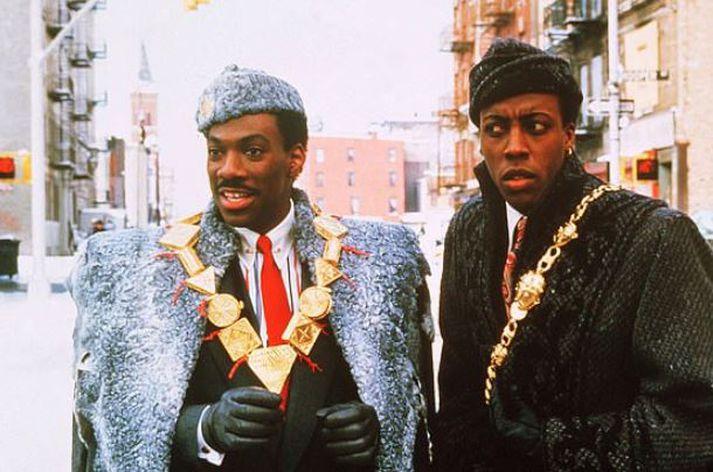 Eddie Murphy og Arsenio Hall fóru á kostum í myndinni frá 1988.
