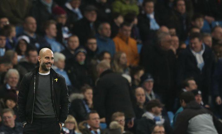 Pep Guardiola er með örugga forystu á toppi úrvalsdeildarinnar