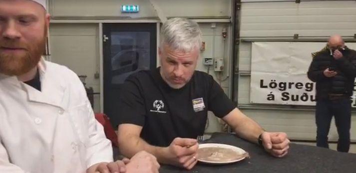 Surströmming er líklega ekki í miklu uppáhaldi hjá þessum.