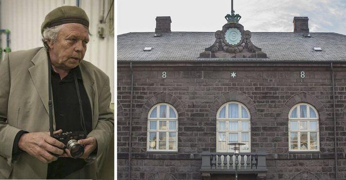 Pétur Þorsteinsson. Varð fyrir vonbrigðum með umræðuna á þingi - fannst þetta óttalegt mélkisuvæl.