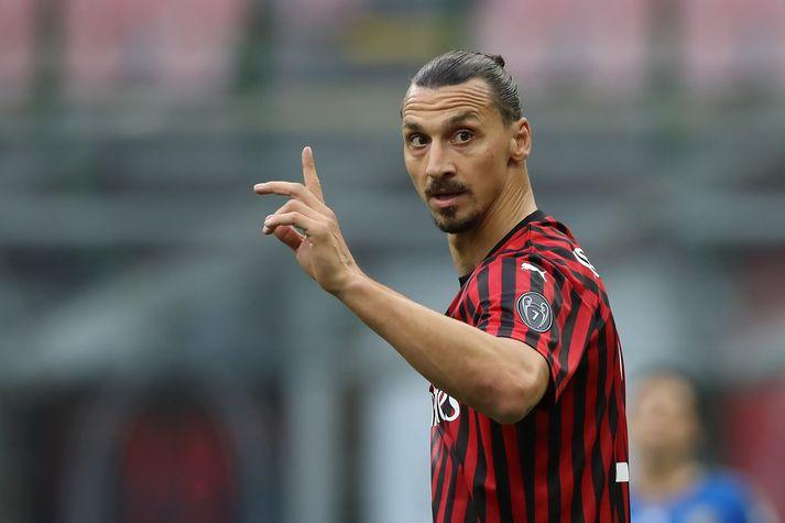 Zlatan Ibrahimovic er leikmaður AC Milan.