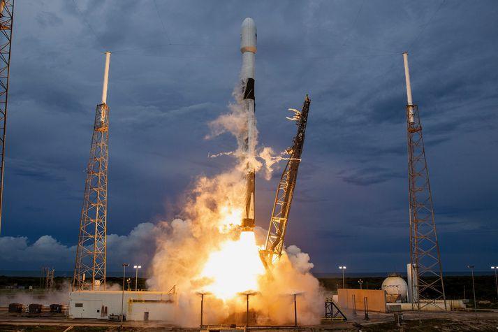 Notast verður við Falcon 9 eldflaug SpaceX í dag.