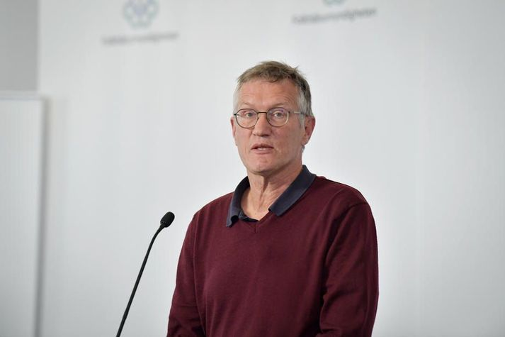 Anders Tegnell er sóttvarnalæknir Svíþjóðar.