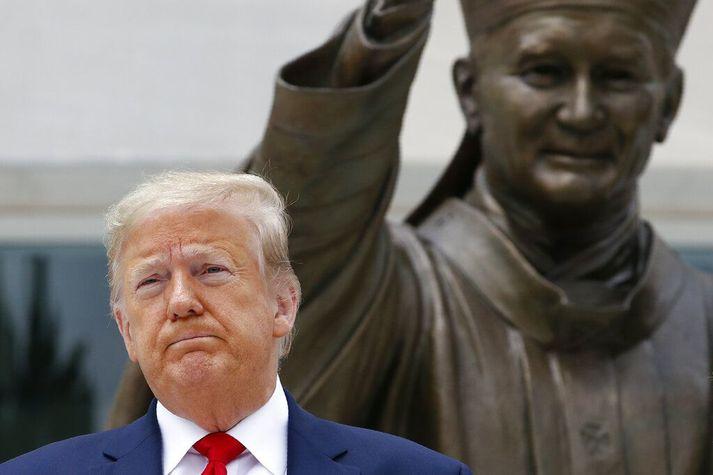Donald Trump er forseti Bandaríkjanna.