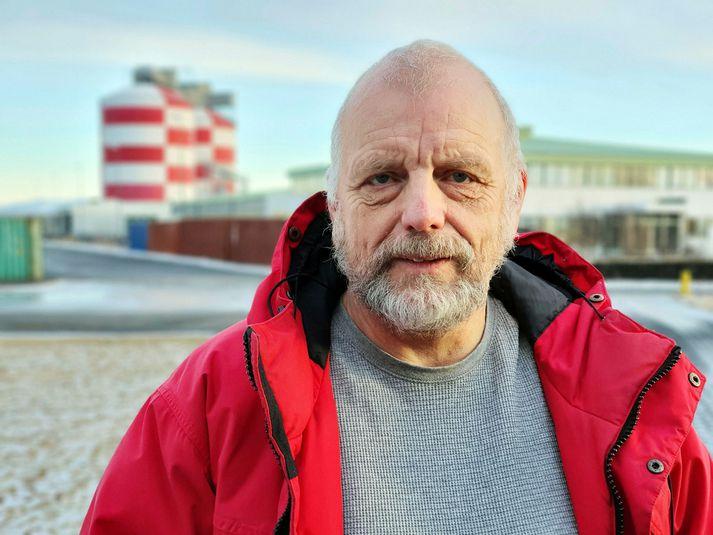 Reinhold Richter, aðaltrúnaðarmaður starfsmanna álversins í Straumsvík.