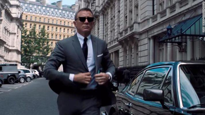 Daniel Craig í síðasta sinn sem Bond.