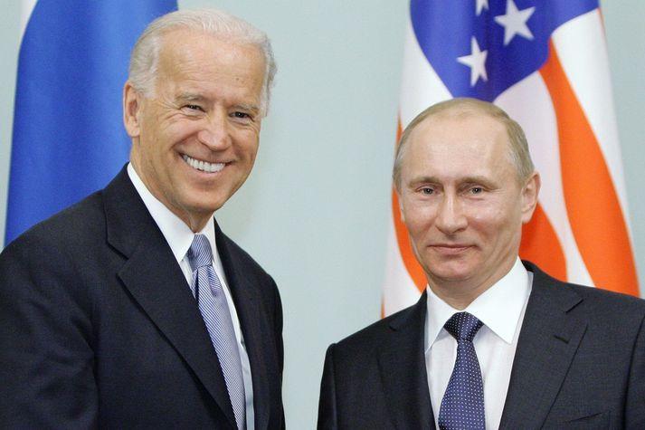Biden og Pútín hittust síðast árið 2011, þegar Biden var varaforseti.