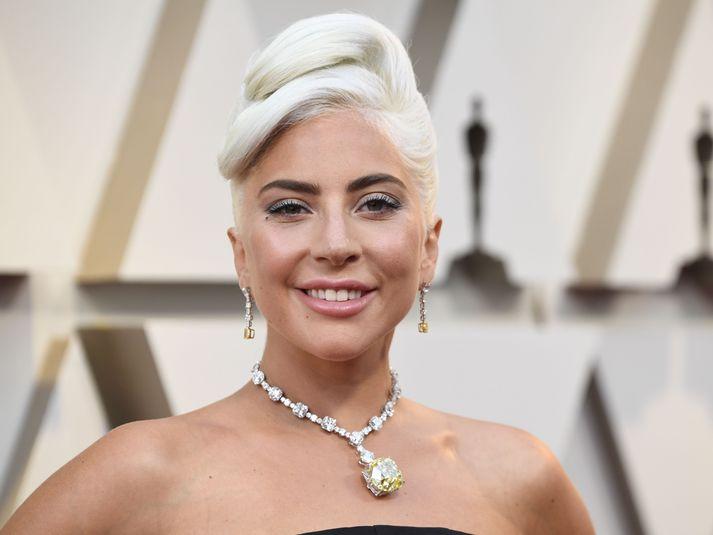 Lady Gaga var tilnefnd til Óskarsverðlaunanna árið 2019 fyrir hlutverk sitt í kvikmyndinni A Star is Born.