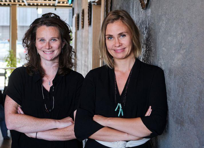 Hanna Björk og Anna Rún fjalla um undraheim Snorra í myndinni Kaf.
