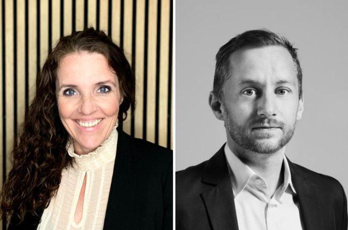 Katrín Ósk Einarsdóttir og Olgeir Pétursson.