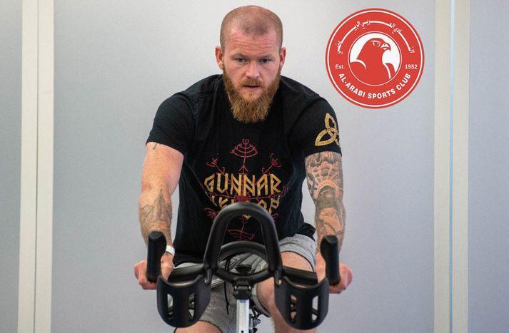 Aron Einar væri vígalegur MMA-kappi.