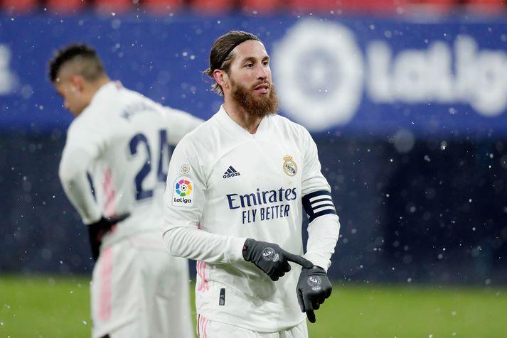 Ramos gæti verið farinn frá Real í sumar.