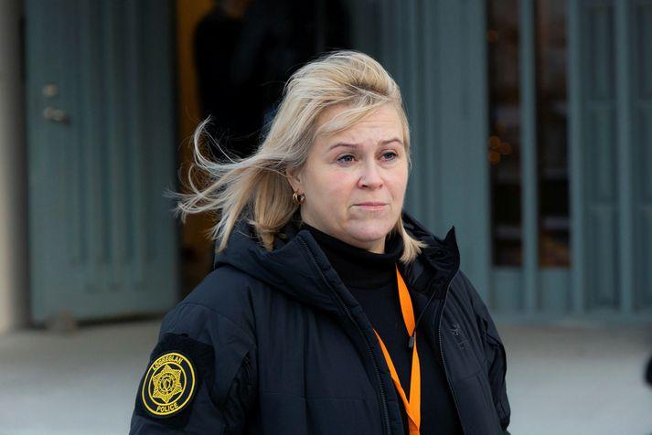 Sigríður Björk Guðjónsdóttir segir málið í hæsta forgangi.