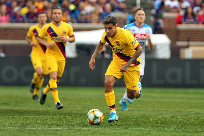 Coutinho hefur væntanlega leikið sinn síðasta leik fyrir Barcelona.