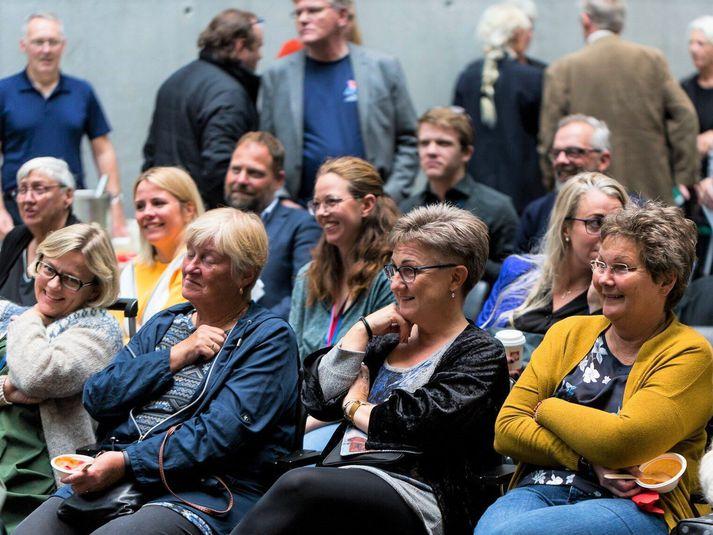 Frá Fundi fólksins á Akureyri 2019.