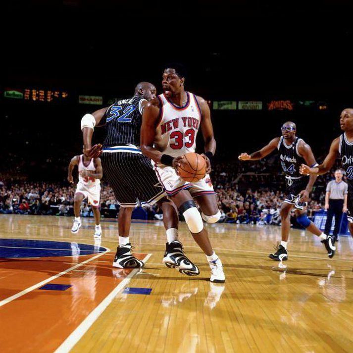 Patrick Ewing er í guðatölu hjá New York Knicks.