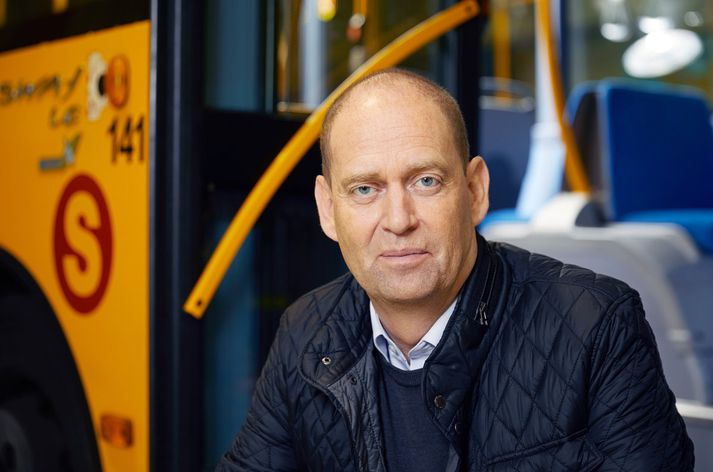 Jóhannes Rúnarsson, framkvæmdastjóri Strætó bs. segir að mikil eftirvænting ríki fyrir komu rafmagnsvagnanna.
