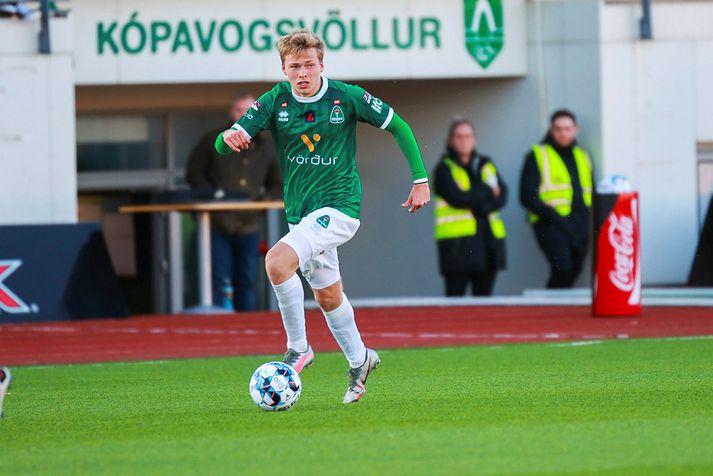 Jason Daði Svanþórsson er á sínu fyrsta tímabili hjá Breiðabliki.