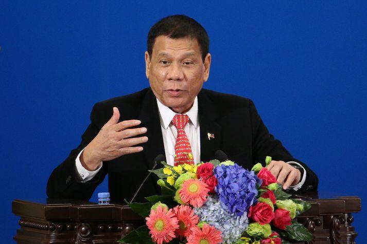 Rodrigo Duterte, forseti Filippseyja.