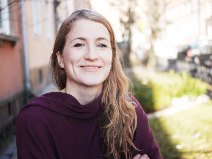 Sænski arkitektinn og teiknarinn Maja Safström er höfundur bókar vikunnar á Vísi, Handbók um skrautlegar skepnur.