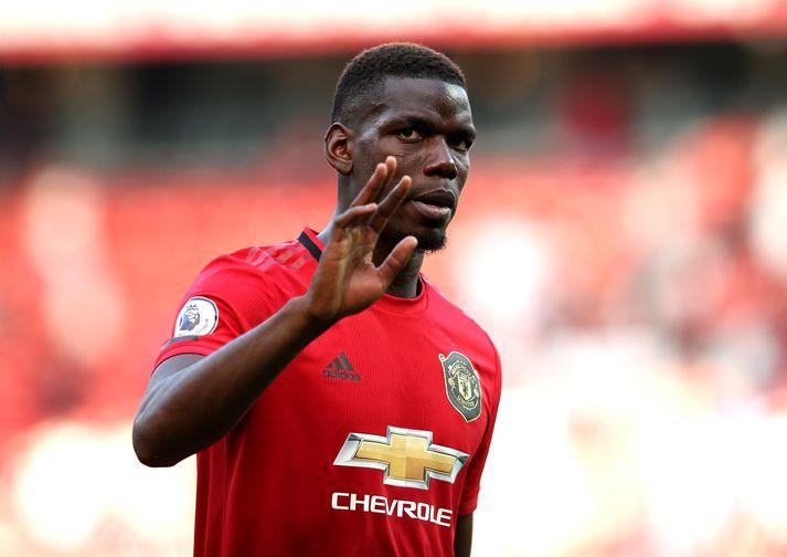 Paul Pogba, miðjumaður Manchester United.