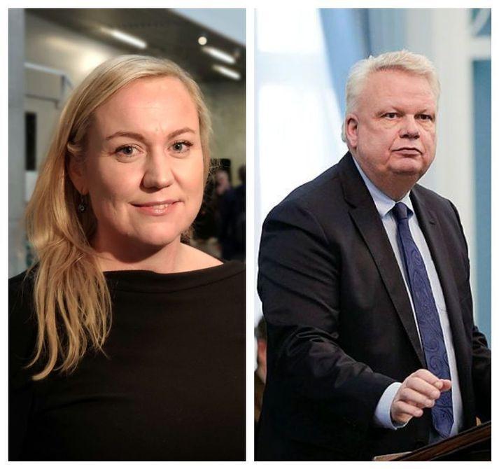 Þorbjörg Sigríður Gunnlaugsdóttir og Ólafur Ísleifsson.