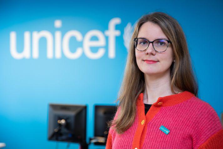 Birna Þórarinsdóttir, framkvæmdastjóri UNICEF á Íslandi.