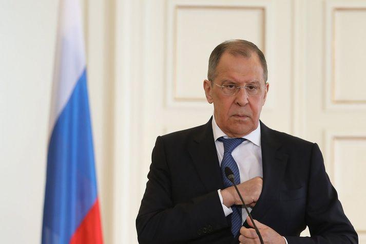 Sergei Lavrov, utanríkisráðherra Rússlands.