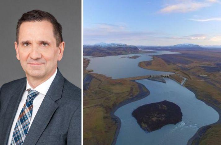 Hvammsvirkjun verður staðsett í neðri Þjórsá, um fimmtán kílómetra neðan við Búrfellsstöð.