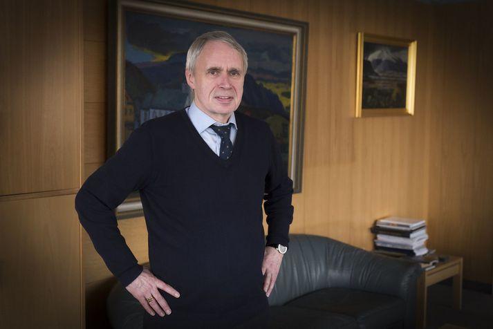 Þórólfur Gíslason hefur verið kaupfélagsstjóri Kaupfélags Skagfirðinga á Sauðárkróki frá árinu 1988.