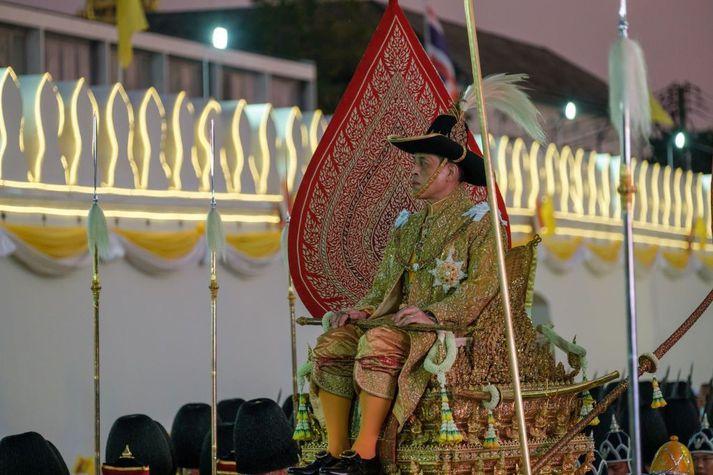 Vajiralongkorn hefur gegnt embætti konungs Taílands frá árinu 2016.