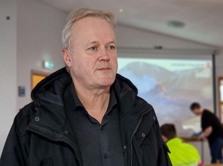 Fannar Jónasson bæjarstjóri Grindavíkurbæjar.