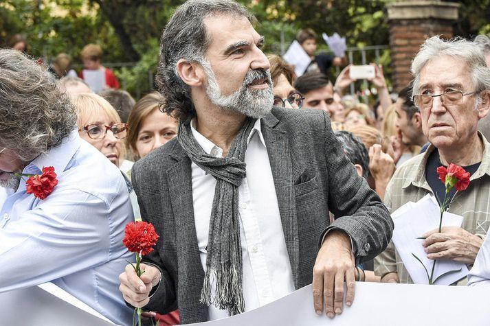 Amnesty International og Mannréttindaskrifstofa Sameinuðu þjóðanna hafa gagnrýnt fangelsun Jordi Cuixart og annarra katalónskra aðgerðasinna.