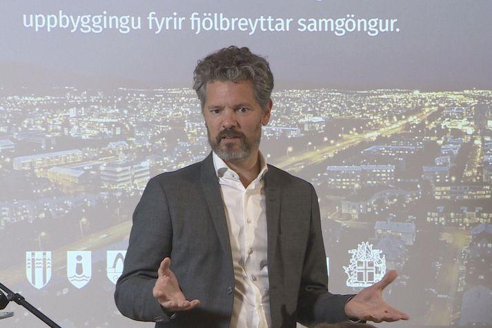 """Dagur B. Eggertsson borgarstjóri: """"Við erum búin að eyða óvissunni um hvernig við ætlum að gera þetta."""""""