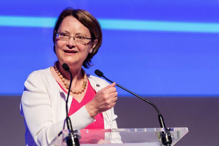 Bente Angell-Hansen, forseti ESA.
