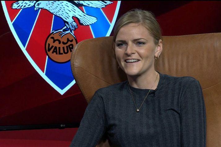 Mist Edvardsdóttir í viðtali við Helenu Ólafsdóttur í Pepsi Max mörkunum.