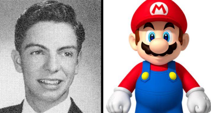 Super Mario var upphaflega kallaður Jumpman þar til að Nintendo ákvað að gefa persónunni alvöru nafn.